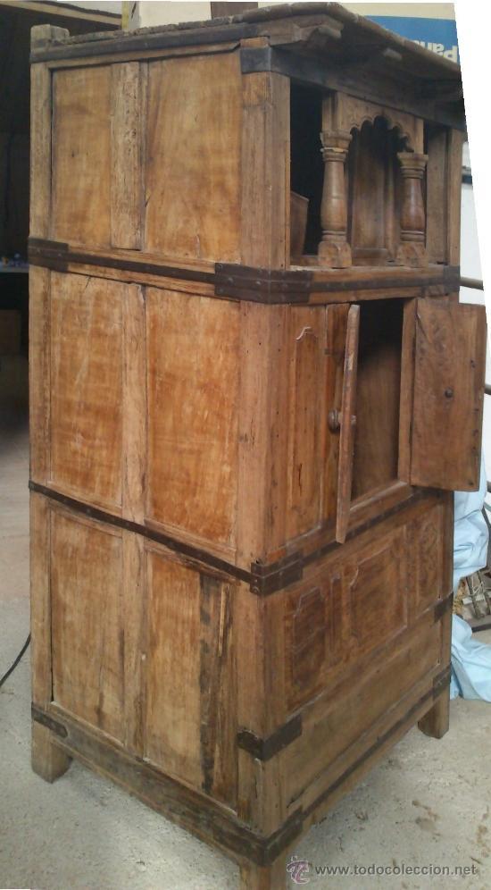 antigedades mueble aparador de cocina enorme foto