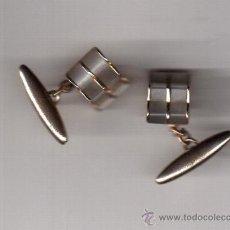 Oggetti Antichi: GEMELOS ANTIGUO DE CABALLERO. Lote 38380760