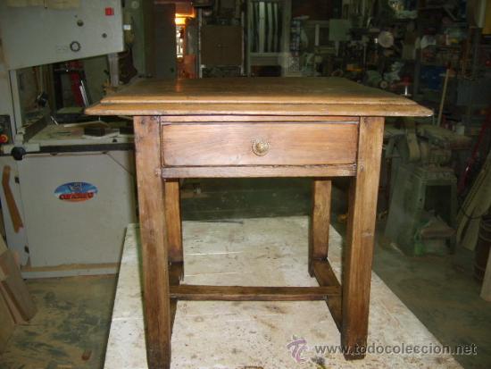 Antigüedades: Mesa rustica de pino - Foto 2 - 38384701