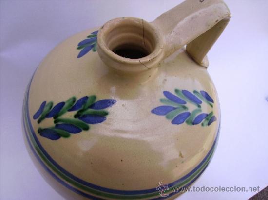 Antigüedades: GRAN CANTARO CERAMICA DE LUCENA - Foto 6 - 38384005