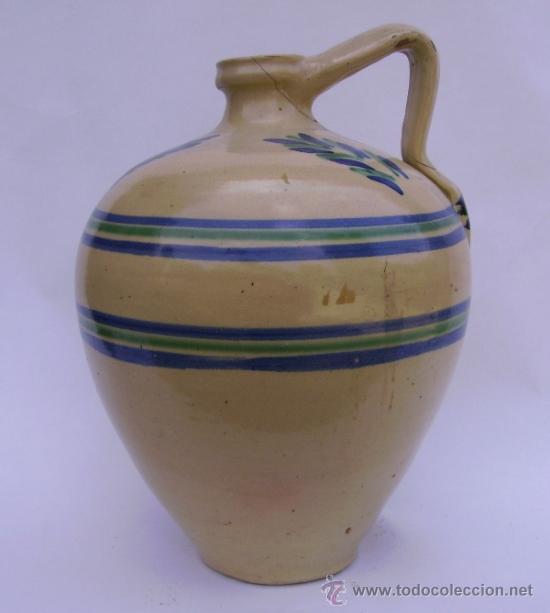 Antigüedades: GRAN CANTARO CERAMICA DE LUCENA - Foto 5 - 38384005