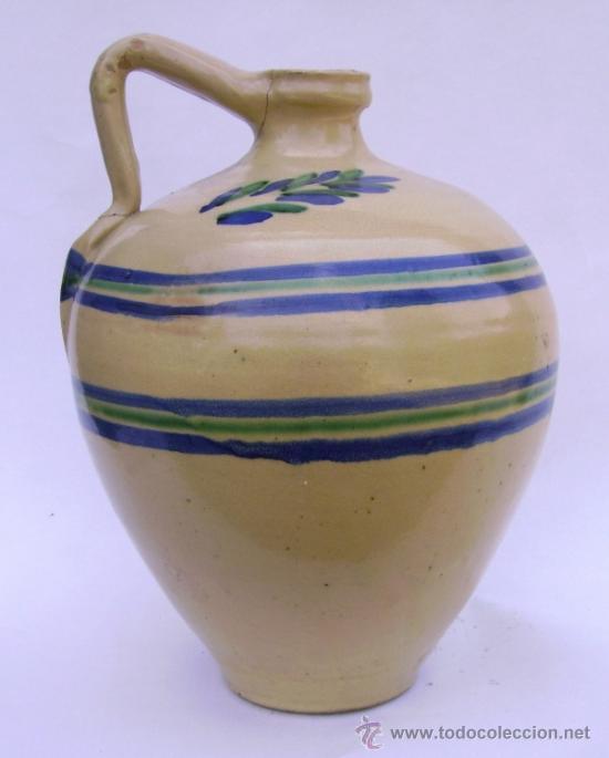 Antigüedades: GRAN CANTARO CERAMICA DE LUCENA - Foto 3 - 38384005