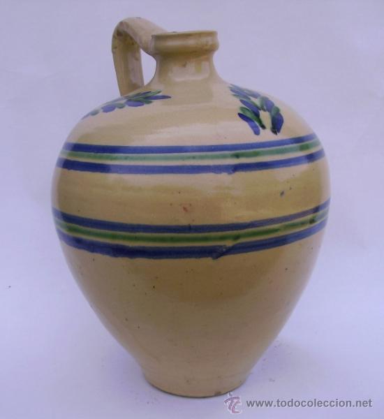 Antigüedades: GRAN CANTARO CERAMICA DE LUCENA - Foto 2 - 38384005