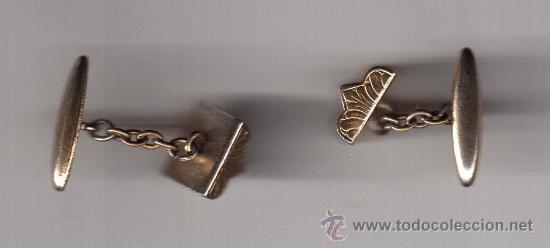Antigüedades: gemelos antiguo de caballero - Foto 2 - 38380760