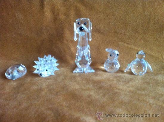Lote de figuras swarovski antiguas regalo comprar - Figuras de cristal swarovski ...