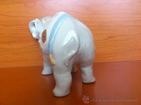 Antigüedades: Elefante en porcelana esmaltada SANBO - Foto 8 - 38398878