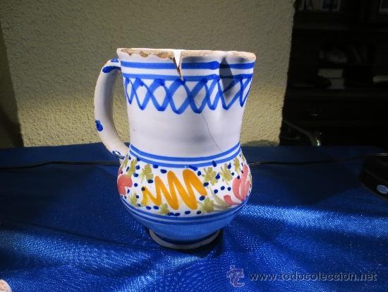 ANTIGUA JARRA DE CERÁMICA (Antigüedades - Porcelanas y Cerámicas - Otras)