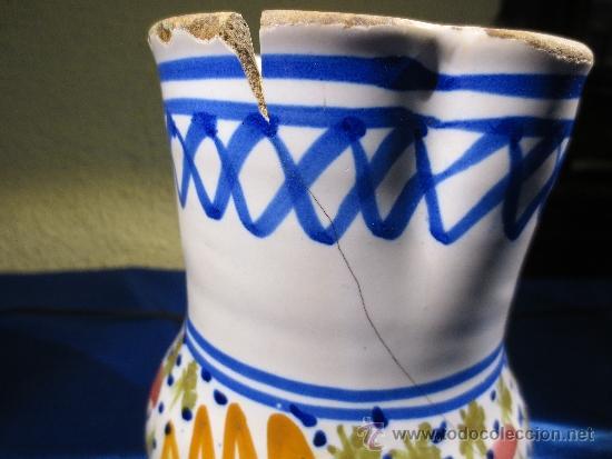 Antigüedades: ANTIGUA JARRA DE CERÁMICA - Foto 4 - 38413541