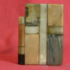 Antigüedades: LIBRO MUESTRARIO PIEDRAS MÁRMOLES SIGLO XIX. Lote 38416428