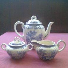 Antigüedades: JUEGO CAFE PORCELANA ALEMANA. Lote 38417511