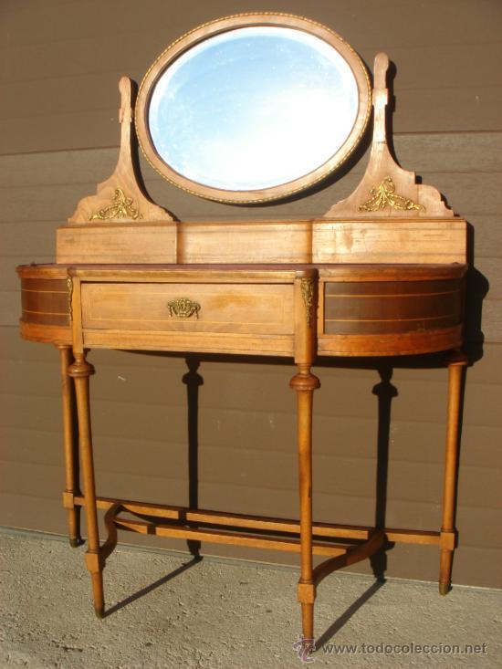 precioso mueble tocador modernista. con cristal - Comprar Muebles ...