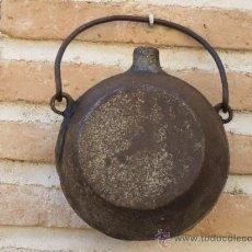Antigüedades: CANTIMPLORA ANTIGUA EN HIERRO FORJADO. ETNOGRAFIA.. Lote 38698850