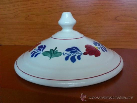 Antigüedades: Sopera antigua con cazo en ceramica ( Borenbont By BOCH ) Belgium - Foto 18 - 38434834
