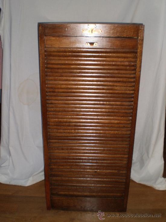Mueble archivador con persiana comprar muebles auxiliares antiguos en todocoleccion 38459706 - Persianas para muebles ...