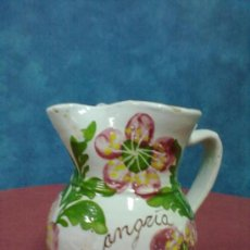Antigüedades: JARRA SANGRIA DECORADA. Lote 38624098