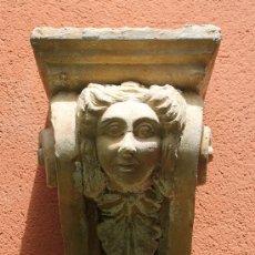 Antigüedades: ANTIGUA PAREJA DE MENSULAS ANTIGUAS EN TERRACOTA. Lote 38479998