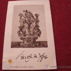 Antigüedades: ANTIGUO RELICARIO EX INDUMENTIS ORIGINAL DE SANTA TERESA DE JESÚS TELA TOCADA A SU CUERPO. Lote 38484268