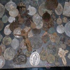Antigüedades: LOTE 72 MEDALLAS ANTIGUAS. Lote 38511371