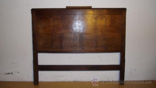 cama art-decó con estructura de roble y chapa d - Comprar Camas ...