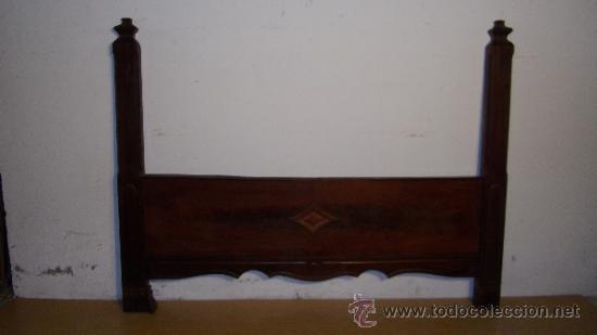 Antigüedades: PIECERO EN MADERA MACIZA DE CAOBA DAITADA - Foto 2 - 39407321
