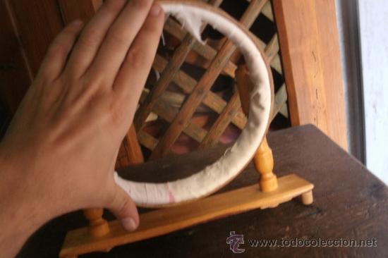 Antigüedades: ANTIGUO BASTIDOR DE COSTURA ORIGINAL DE LOS AÑOS 30 Ó 40 DEL SIGLO PASADO - Foto 4 - 38530029