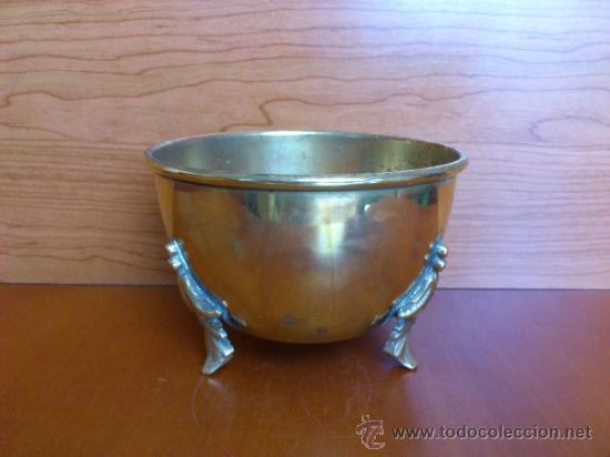 Antigüedades: Macetero antiguo en bronce - Foto 11 - 38538825
