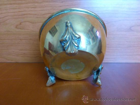 Antigüedades: Macetero antiguo en bronce - Foto 5 - 38538825