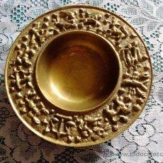 Antigüedades: PLATO DE BRONCE DE 17CM. Lote 38545671