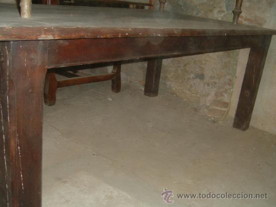 Antigüedades: Mesa rectangular - Foto 3 - 38576918