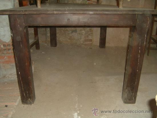 Antigüedades: Mesa rectangular - Foto 4 - 38576918