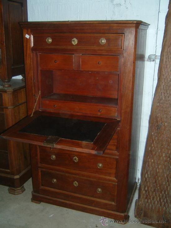 Mueble chifonier caoba comprar muebles auxiliares for Muebles de caoba antiguos