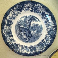 Antigüedades: PLATO CARTUJA DE SEVILLA - PIGMAN. Lote 46073587