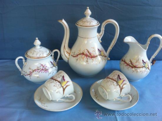 antiguo juego de te en porcelana de sevres sigl comprar