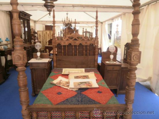 cama con dosel - Comprar Camas Antiguas en todocoleccion - 63444786