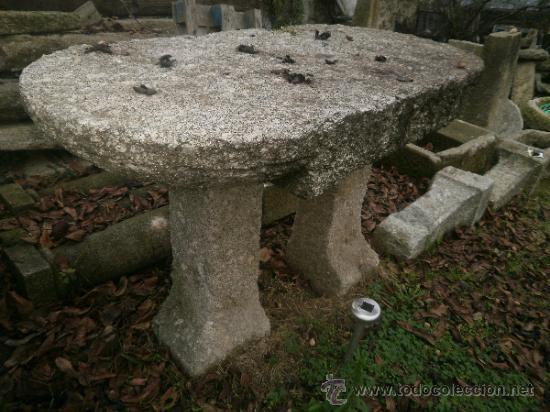 Mesa de piedra comprar antig edades varias en todocoleccion 38658253 - Mesas de piedra ...