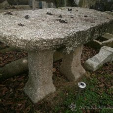 Antigüedades: MESA DE PIEDRA. Lote 38658253