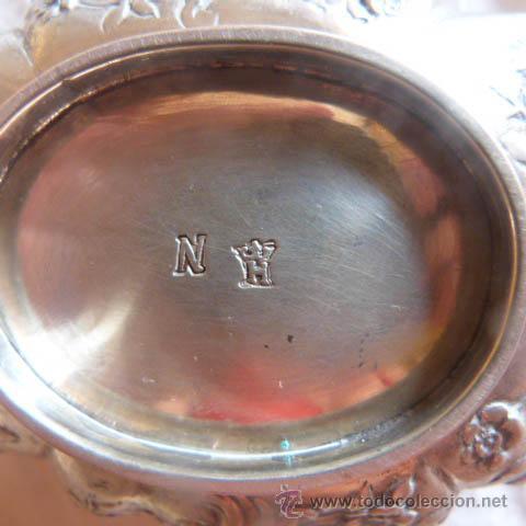 Antigüedades: Cofre de plata s.XVIII ,Francés - Foto 12 - 28264426