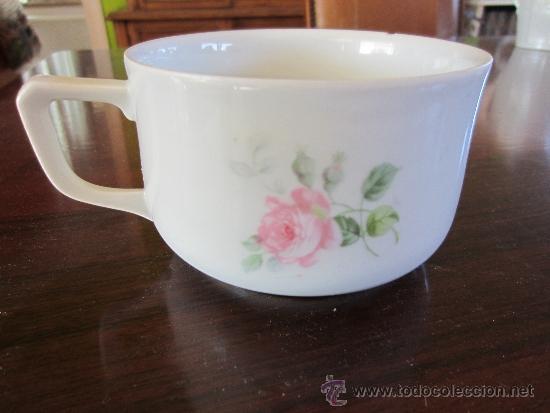 Antigüedades: taza de porcelana - Foto 2 - 38600487