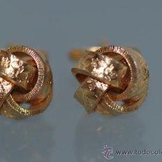 Antigüedades: GEMELOS DORADOS FIRMADOS ASCOT W. GERMANY DE 1970 APROX. VINTAGE. Lote 38630197