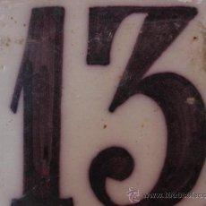 Oggetti Antichi: BONITO AZULEJO TRIANA SIGLO XVIII - PPIOS XIX NUMERO 13. Lote 38640111