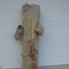 Antigüedades: MUY ANTIGUO COJIN DE BOLILLOS - ENCAJE - ANTIC COIXÍ DE BUIXETS. Lote 38663200