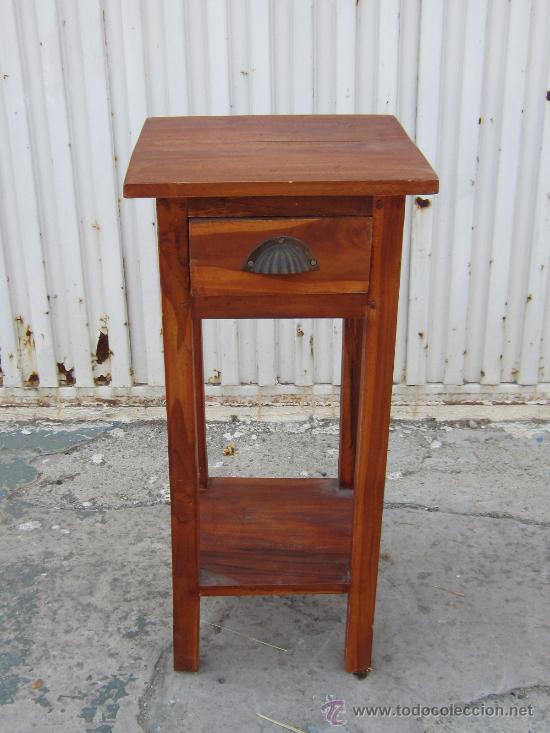 Mesa Auxiliar Rustica Con Cajon Sold Through Direct Sale 38665690