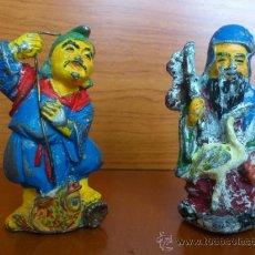 Antigüedades: FIGURAS DE PLOMO ANTIGUAS ( CHINA ). Lote 38667432