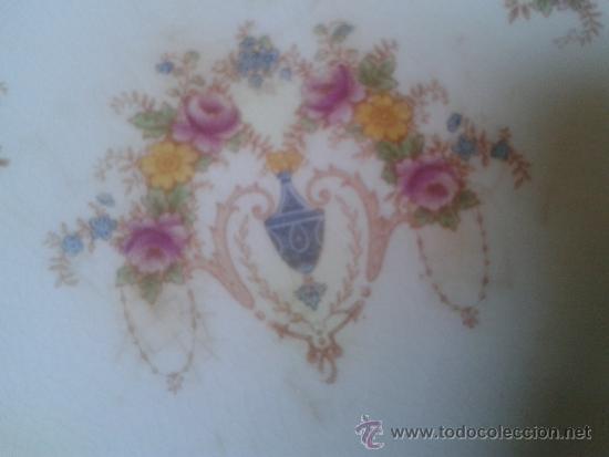 Antigüedades: DELICIOSO FRUTERO ART NOUVEAU. MODERNISTA. Albert G Richardson. Cobridge, Stoke-on-Trent.1920-21 - Foto 4 - 38669047