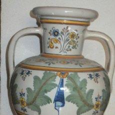 Antigüedades: JARRÓN CERAMICA TALAVERA RUIZ DE LUNA. Lote 38687315