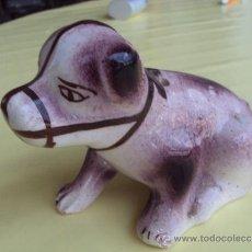 Antigüedades: ANTIGUO PALILLERO DE SARGADELOS -DOGO EN . Lote 38683978