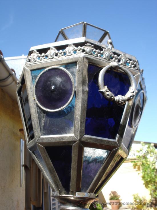 Antigüedades: Liquidacion Fanal procesional modernista emplomado ppXX - Foto 7 - 38708993