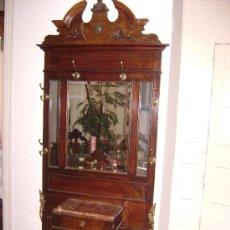 Antigüedades: PARAGUËRO RECIBIDOR SOMBRERERO, PERCHERO DE 1920.. Lote 38730928