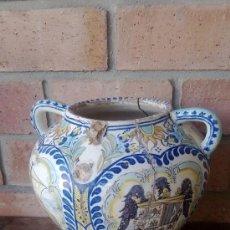 Antigüedades: JARRON TALAVERA LEER. Lote 38744077