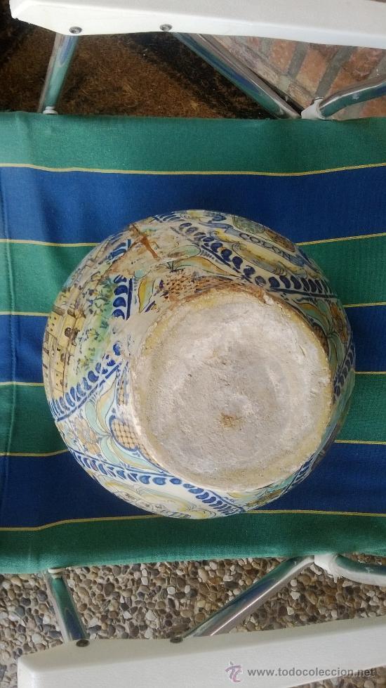 Antigüedades: jarron talavera leer - Foto 8 - 38744077